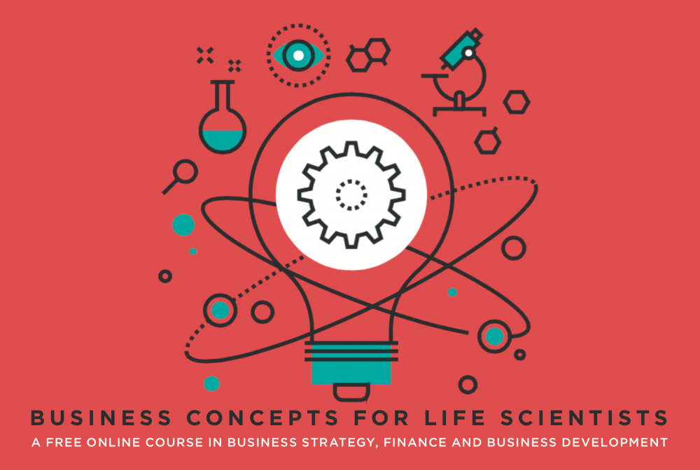 Business Concepts for Life Scientists Course logo